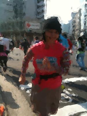 東京マラソン見てきたよ